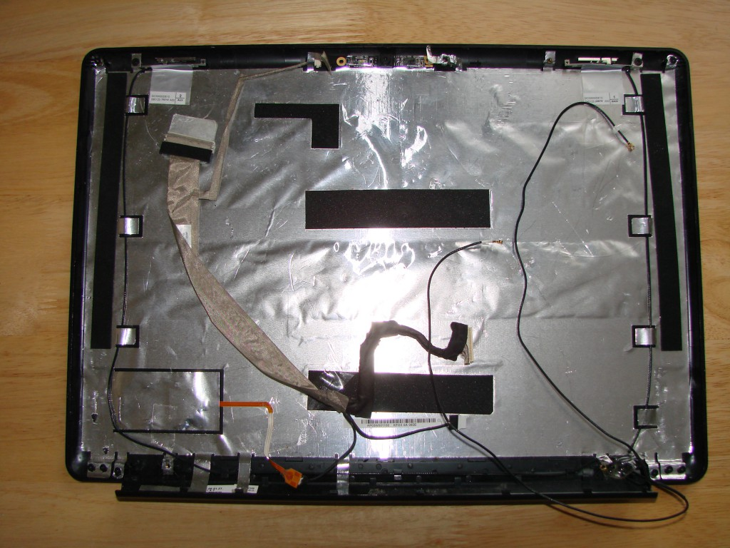 HP PAVILION DV9500 BACK COVER