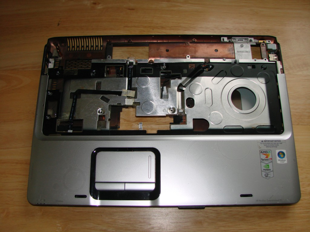 HP DV9500 LAPTOP BASE ONLY